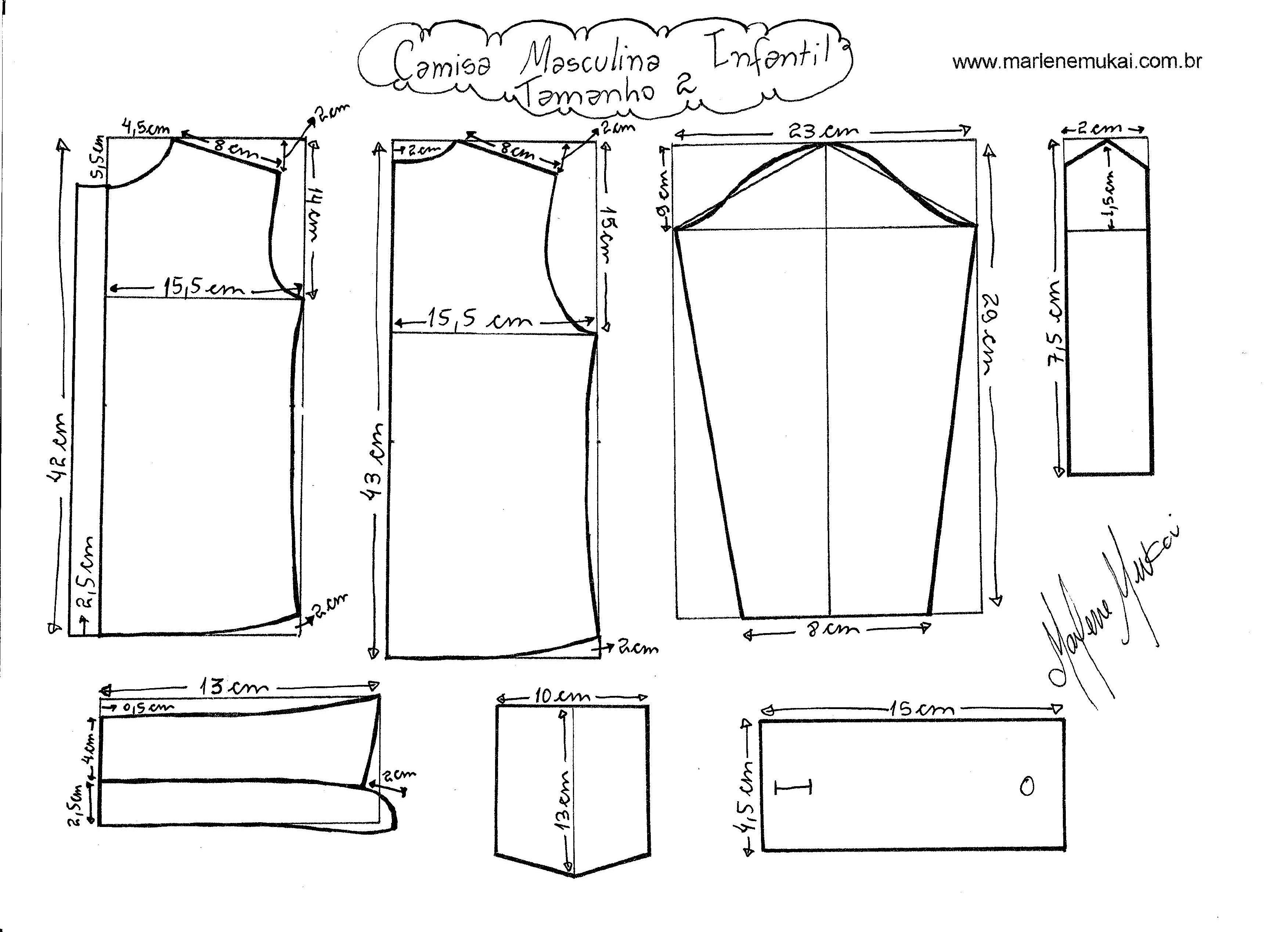 Moldes De Blazer Para Imprimir De Pdf Pesquisa Google Camisa