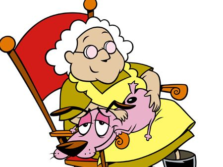Picture Of Eustace Stupid Dog