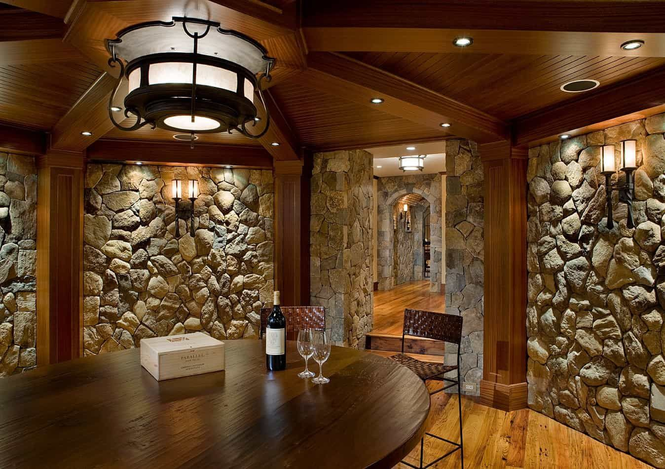 Charles River Wine Cellars Stoneyard Stone Walls Interior