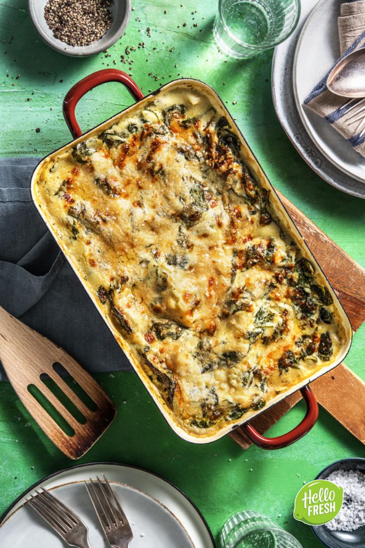 Lasagnes de légumes et béchamel maison Avec de l'aubergine ...