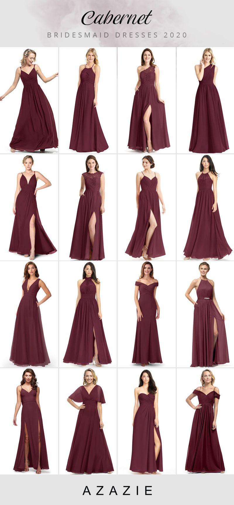 Cabernet Bridesmaid Dresses At Affordable Prices In 2020 Fall Bridesmaid Dresses Burgundy Bridesmaid Dresses Bridesmaid Dresses