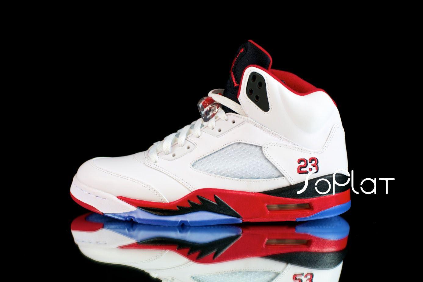 Air Jordan 5 Retro 3Lab5 Black Infrared 23 New Detailed Pictures |  KixandtheCity.com: Fresh Sneakers | Pinterest | Air jordan, Retro and Detail