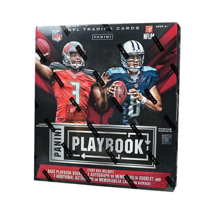 2015 panini playbook football hobby box football box
