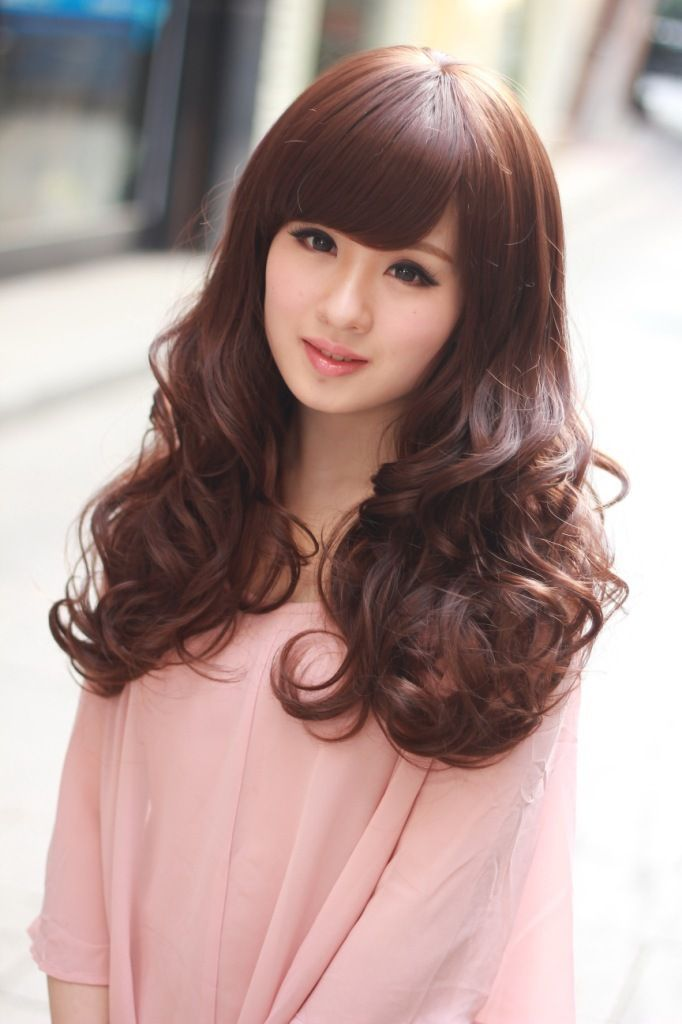 Astounding 1000 Images About 2015 Asian Girls Hairstyles On Pinterest Girl Hairstyle Inspiration Daily Dogsangcom
