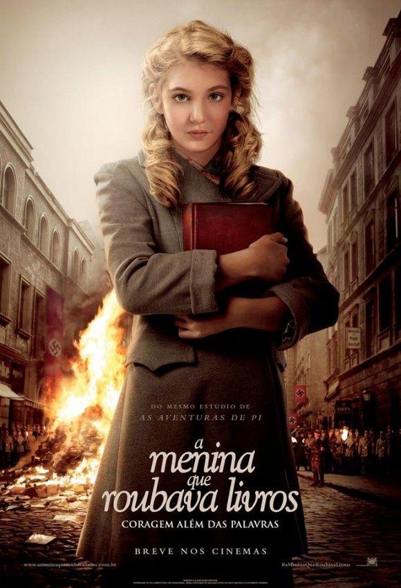 Poster Brasileiro De A Menina Que Roubava Livros Movie Cinema