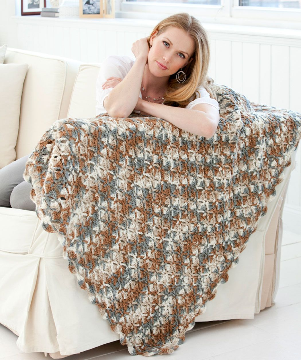 Stone Mountain Throw Crochet Pattern Crochet Afghan