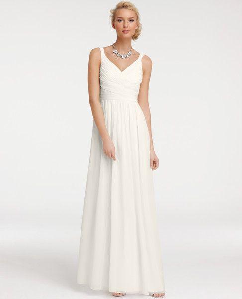 Simple Summer Wedding Dress - Ocodea.com