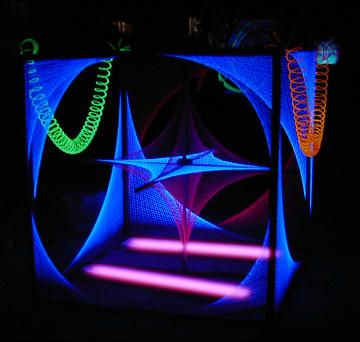 Blacklight String Lights Gorgeous String Black Lights  Google Search  80's Glow In The Dark Stage Review