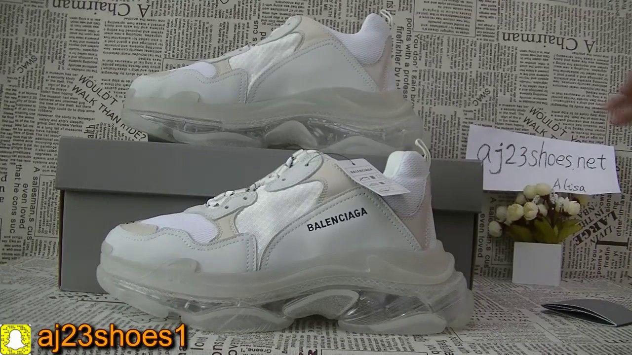 41bde1ef70e First LOOK!Balenciaga Triple S vintage sneakers air sole 2019 from aj2.