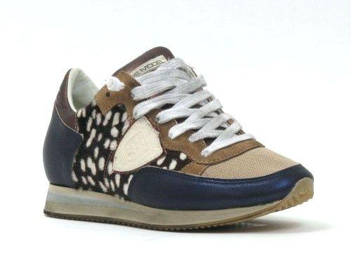 Philippe Model Sneaker beige   Style icons - Sneakers, Shoes en Me ... d6173de96872
