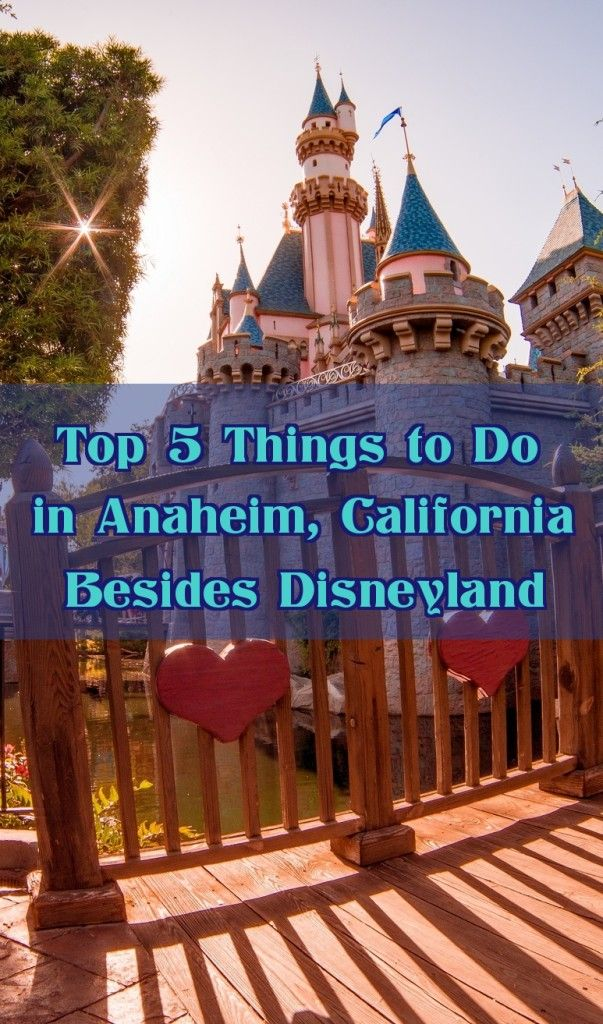 top 5 things to do in anaheim california besides. Black Bedroom Furniture Sets. Home Design Ideas