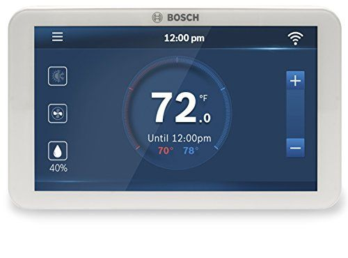 Bosch Connected Control Wi Fi Thermostat Alexa Enabled In 2019