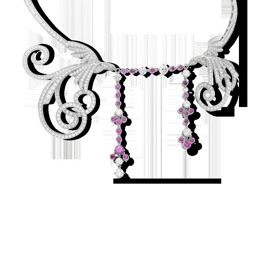 Oiseaux de Paradis necklace - Van Cleef & Arpels