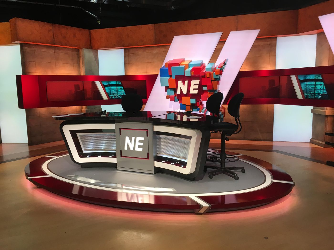 Sportsnation Nacion Espn Set Design Gallery Stage Set Design