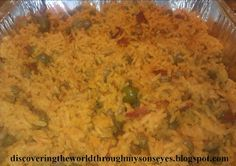 Rice with pigeons peas (arroz con gandules)