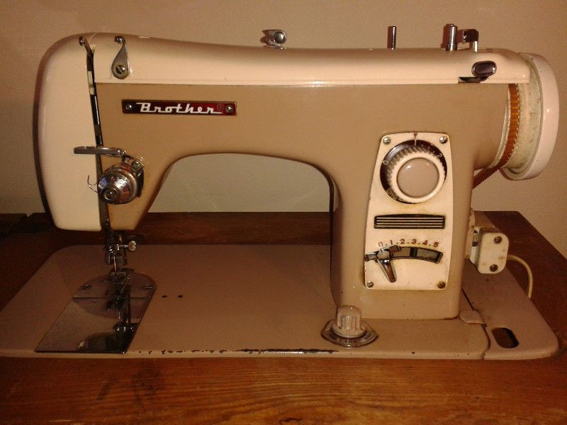 Brother In A Cabinet Sewing Machine Pr0n