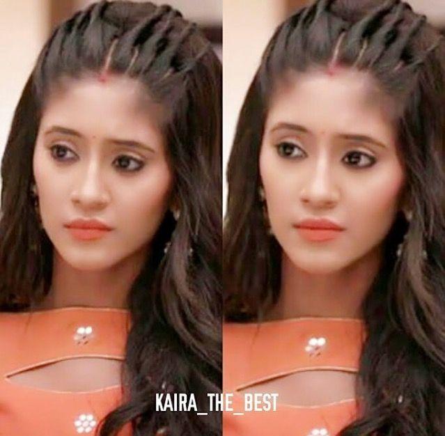 Shivangi joshi | Front hair styles, Hair style on saree, Hair styles