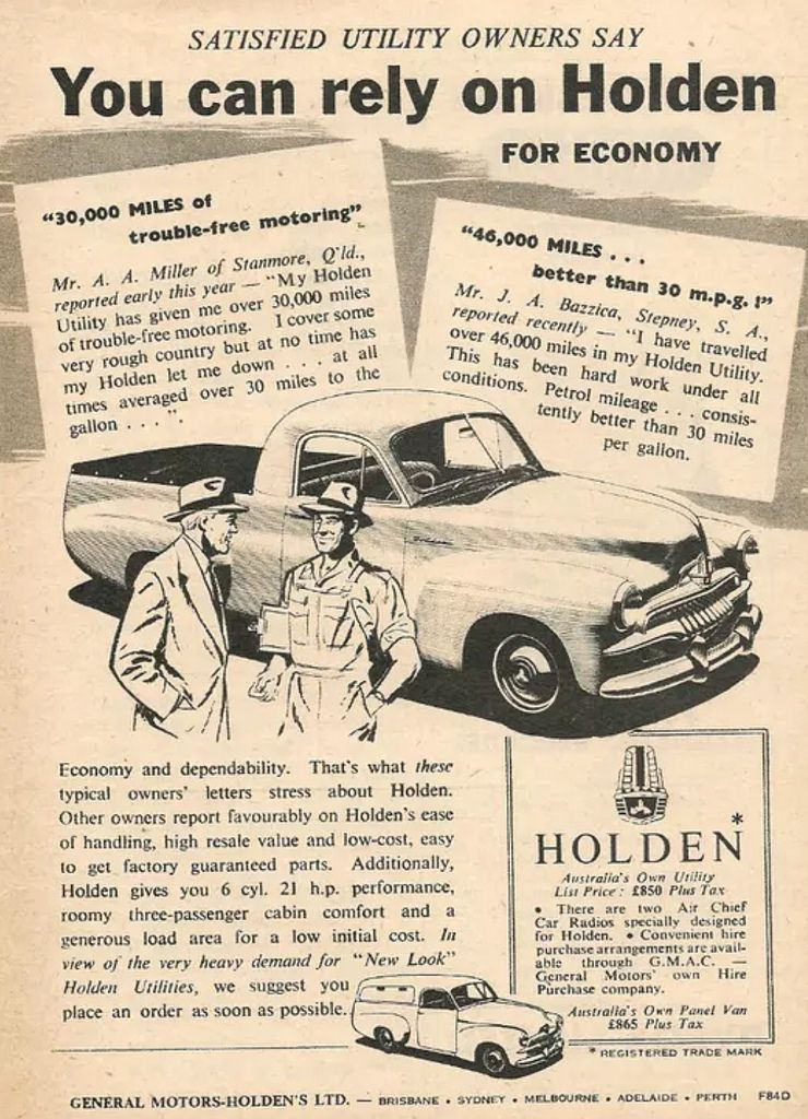 Image result for fj holden workhorse Holden, Australian