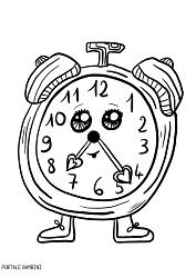 disegno orologio da stampare #watches #coloring