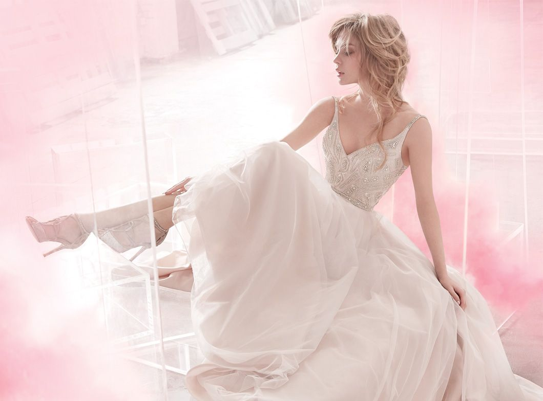 Bridal Gowns, Wedding Dresses by Hayley Paige   Style HP20 ...
