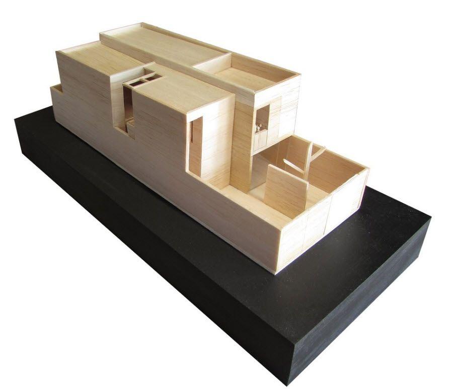 Resultado De Imagen Para Maquetas De Casas Modernas
