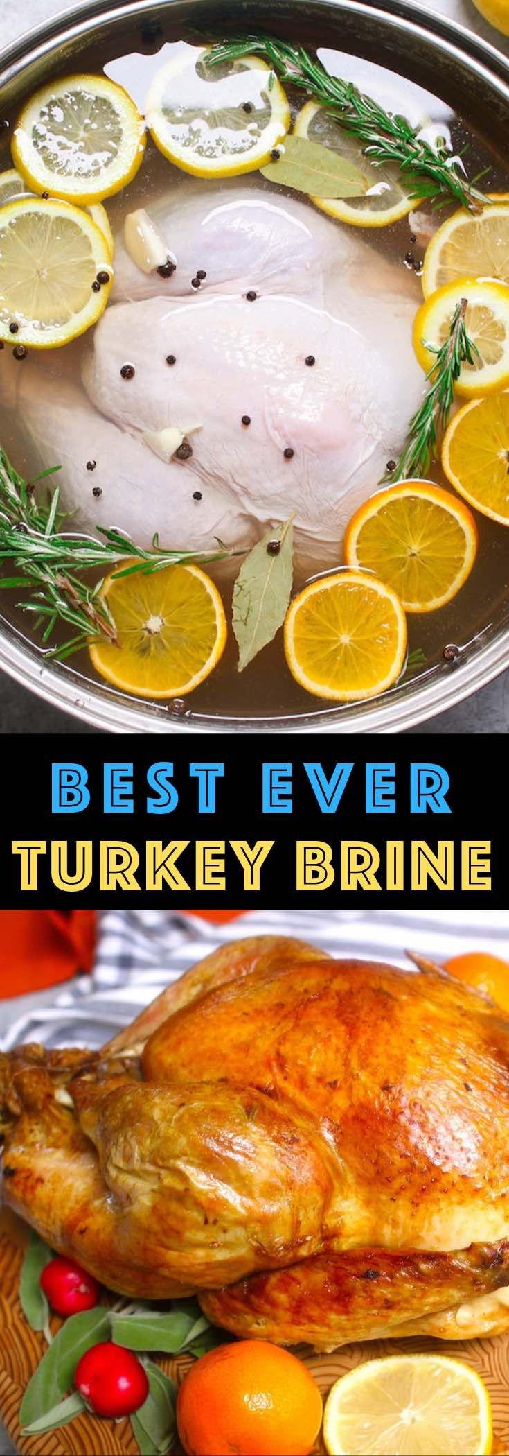 How to Brine A Turkey {Best Turkey Brine Recipe Ever} - TipBuzz