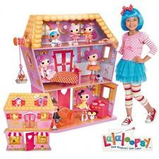 Elegant Lalaloopsy Sew Magical House Wooden Dollhouse. I Want It Get This And  Completely Redecorate It So It Looks Like A Real House, Not An Explosion Of  Pink