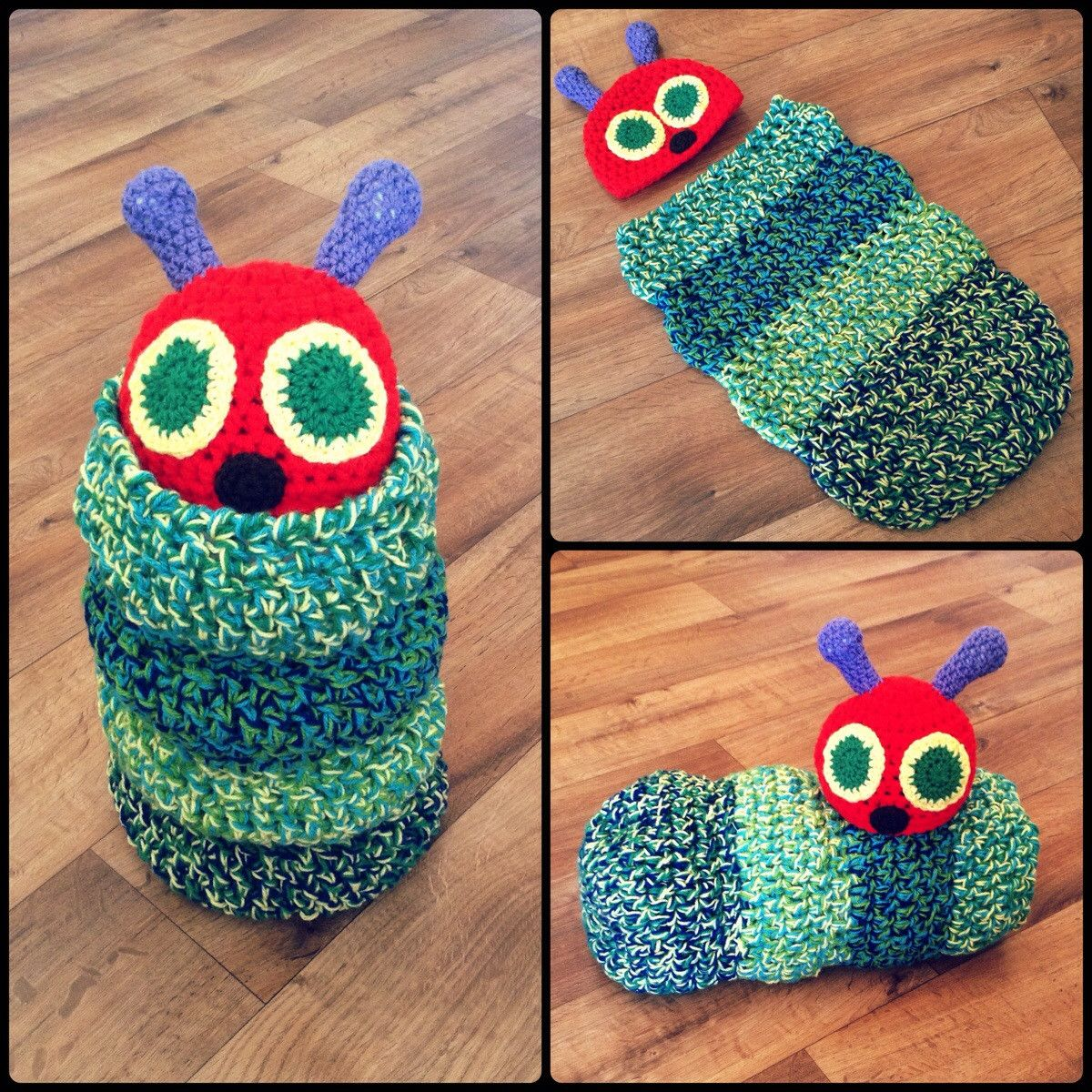 Very Hungry Caterpillar BABY COCOON | Crafts | Pinterest | Baby ...