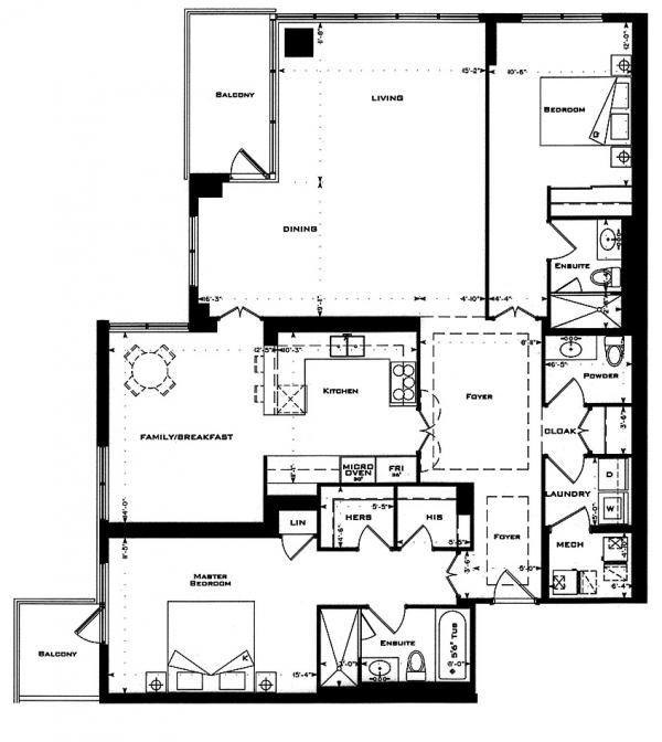1 Bedford Road 2 Bed 1682 Sf Floor Plan Shakespeare Floor Plans Bedford How To Plan