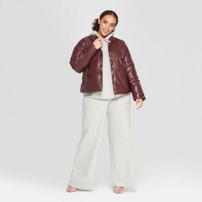 56d9dc08bdee4 Women s Plus Size Cozy Wide Leg Pants - Who What Wear Gray X in 2019 ...