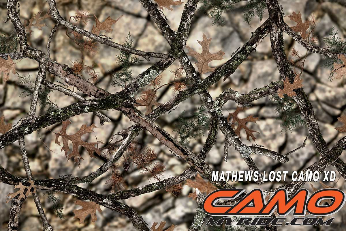 The NEW Mathews Lost XD camo pattern. Available now at www ...