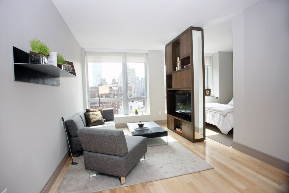 Alcove Studio Apartment Example