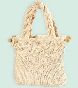 Cable Knit Purse : Knitting Projects :  Shop | Joann.com