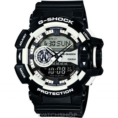 fe8cbf58018 Mens Casio G-Shock Alarm Chronograph Watch GA-400-1AER