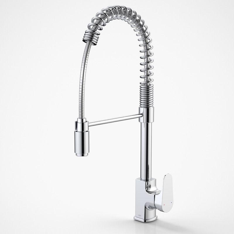Dorf   Mixer Taps - Viridian - Viridian Pull Down Sink Mixer ...