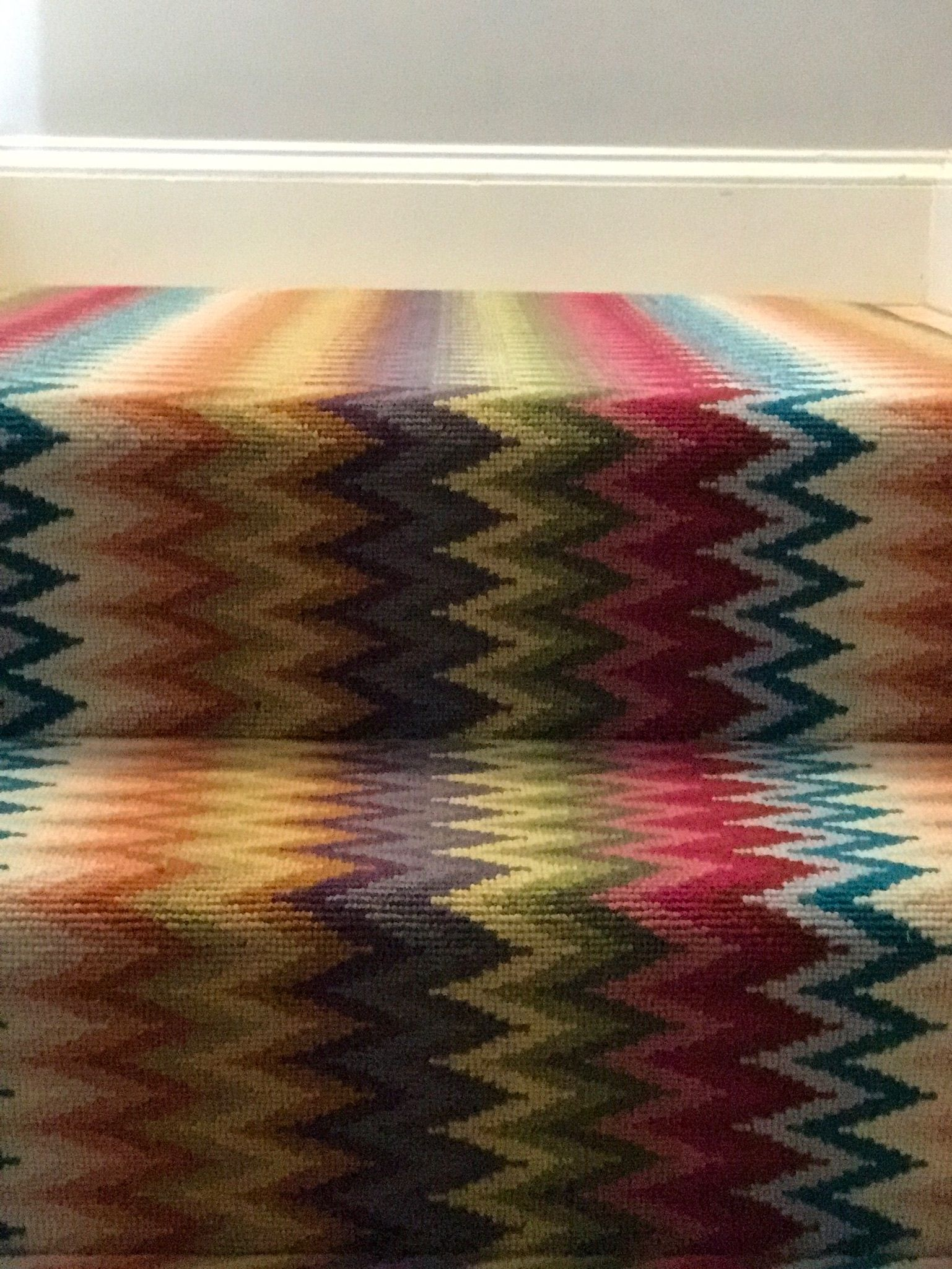 Best Pin By The Carpet Workroom On Colorful Stair Runners With 400 x 300