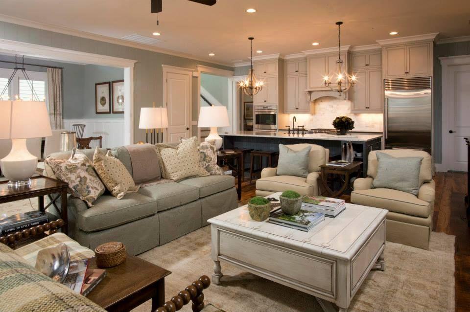 Living Room 2, Palmetto Bluff, Bluffton, South Carolina #Homedecor