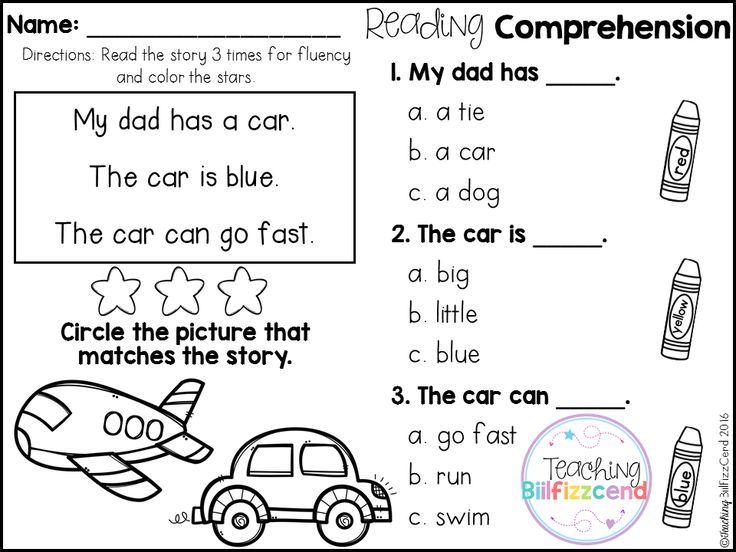 Inside You Will Find 25 Kindergarten Reading Comprehension Passages T Reading Comprehension Kindergarten Reading Comprehension Halloween Reading Comprehension