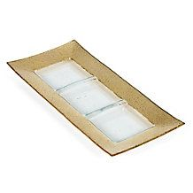 Luxe Rectangular Serving Dish - pretty piece for serving spiced nuts or crudités  Stylish Home Decor & Chic Furniture At Affordable Prices   Z Gallerie