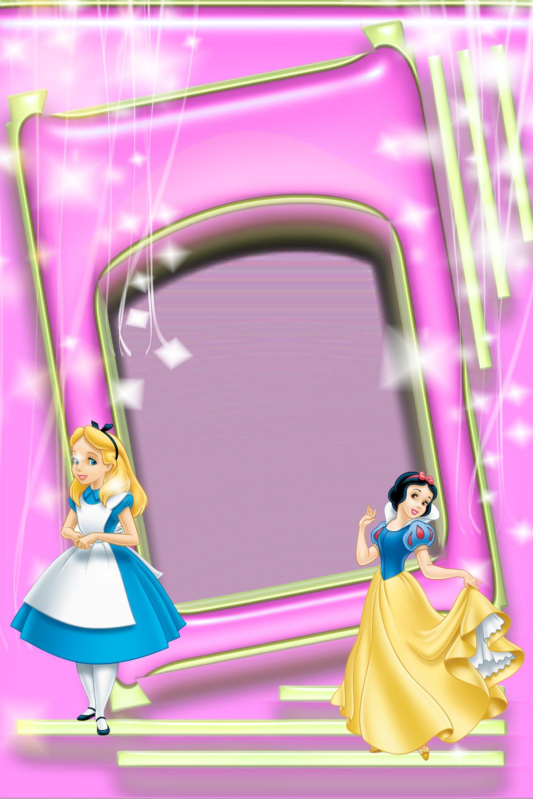 Imagens para photoshop: Princesas disney frames PNG | קליפ ארט ...