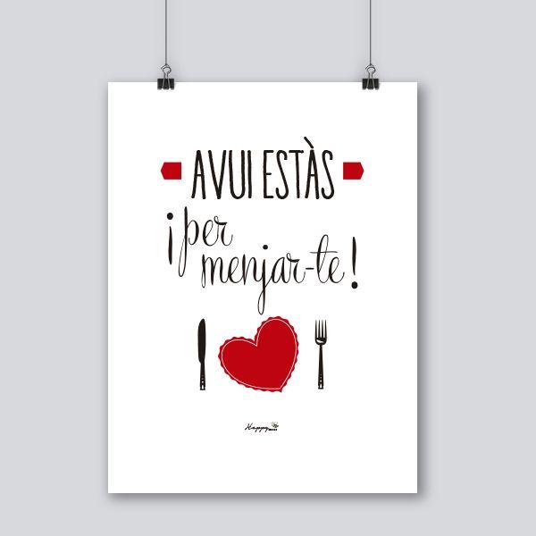 Avui estas frases boniques pinterest frases frases - Amor en catalan ...