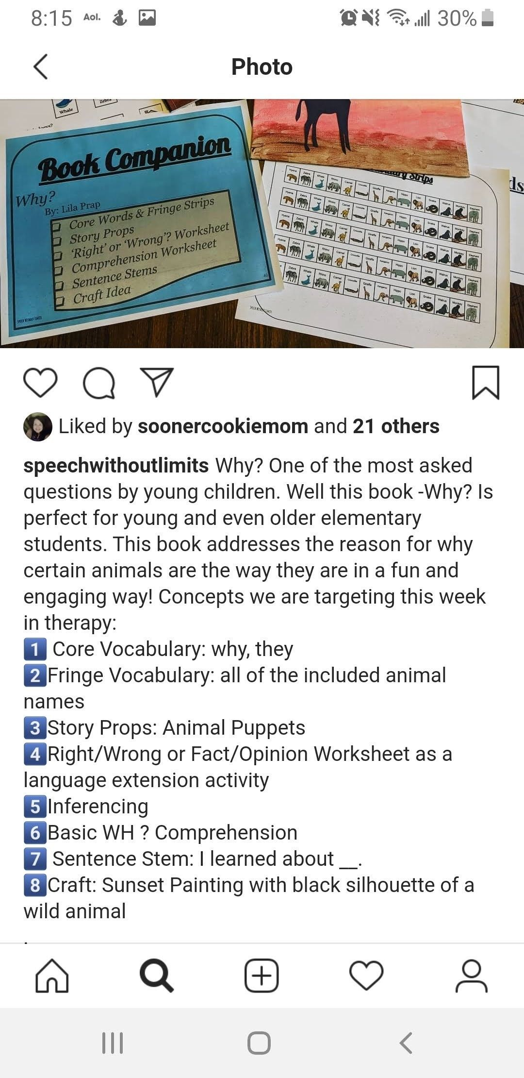 Core Vocab Why They Book Why In