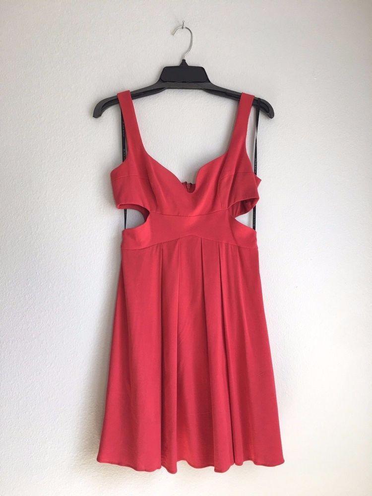 Black Open Side Mini Dress
