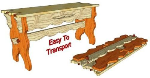 Awesome Knockdown Furniture Plans. Some Great Woodworking Plans, Including  Bed In A Box.