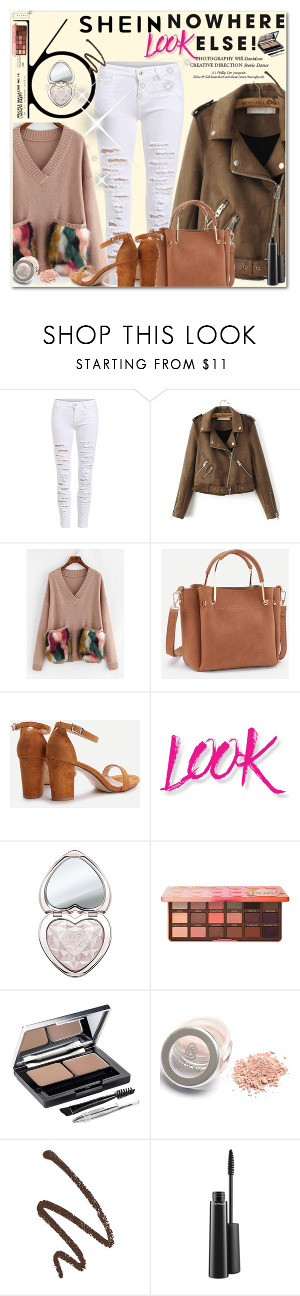 """SHEINSIDE"" by selmica11 liked on Polyvore featuring"