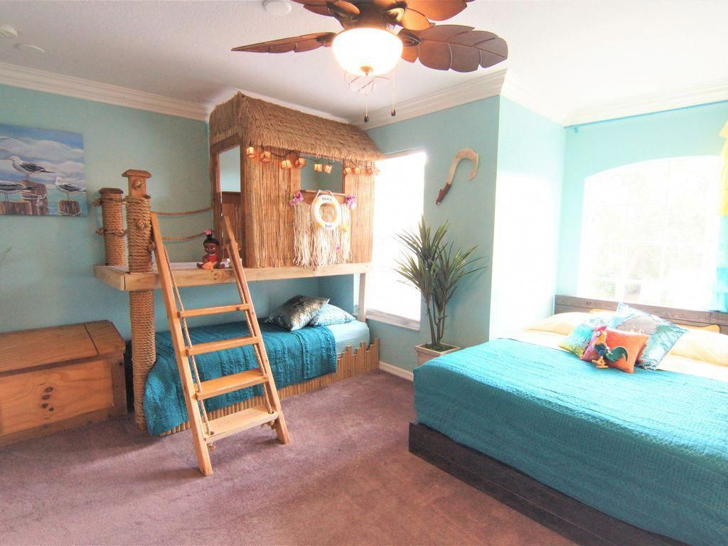 Maui And Moana S Tiki Playhouse Twin Moana S Boat Bed Queen