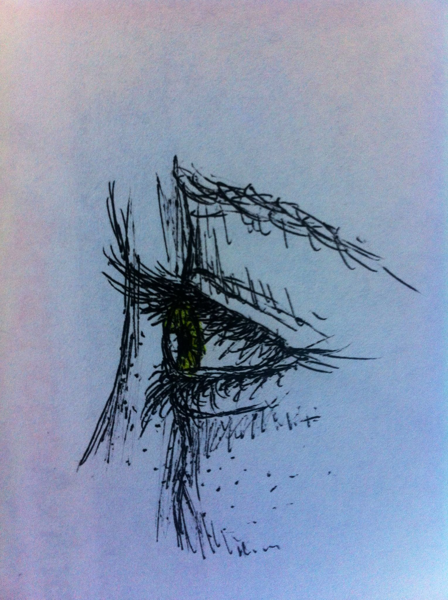 Eye Sketch Mac Eyeshadow And Green Eyes On Pinterest: 1000+ Images About Art Eyes On Pinterest