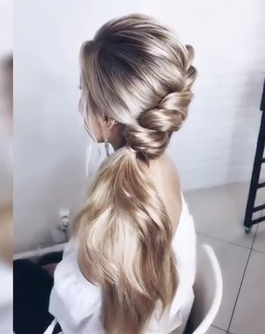 We Chose The Hair Braiding Styles For You In 2020 Easy Hairstyles Curly Hair Styles Bun Hairstyles