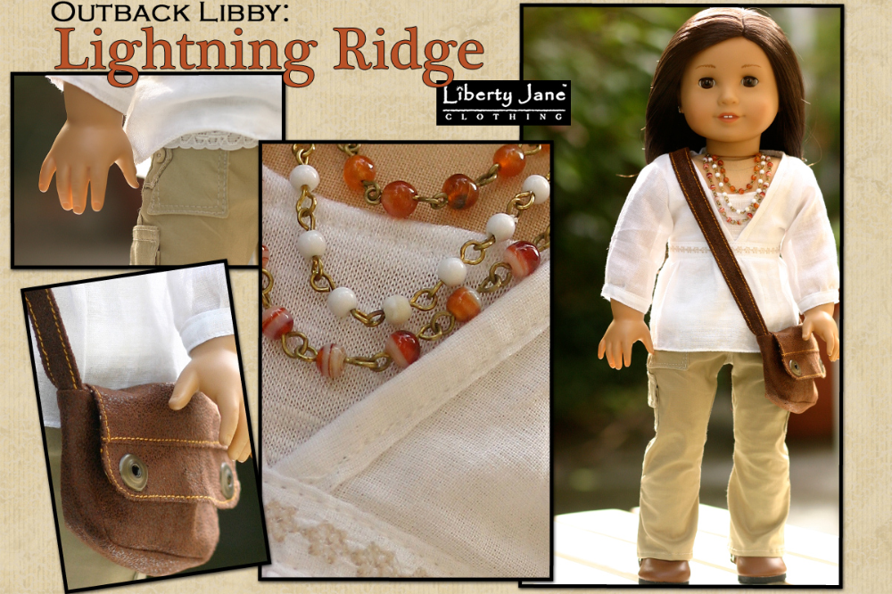 Liberty Jane Doll Outfit designed to fit the 18 inch