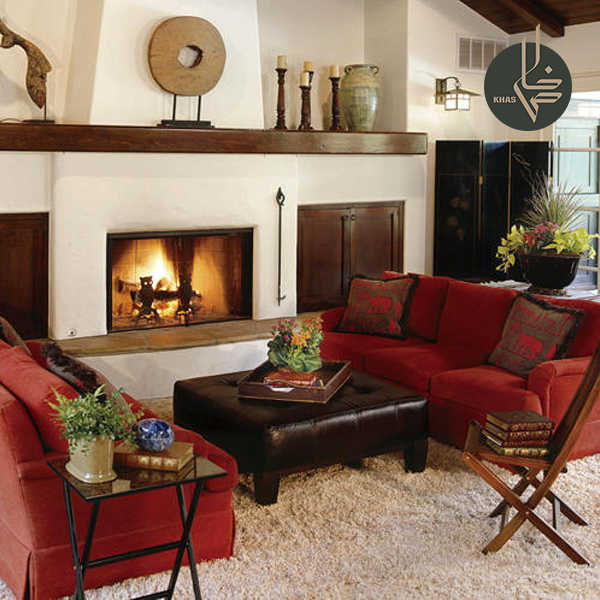 Revive Your Living Room With Red Punctuate A Neutral Color Scheme